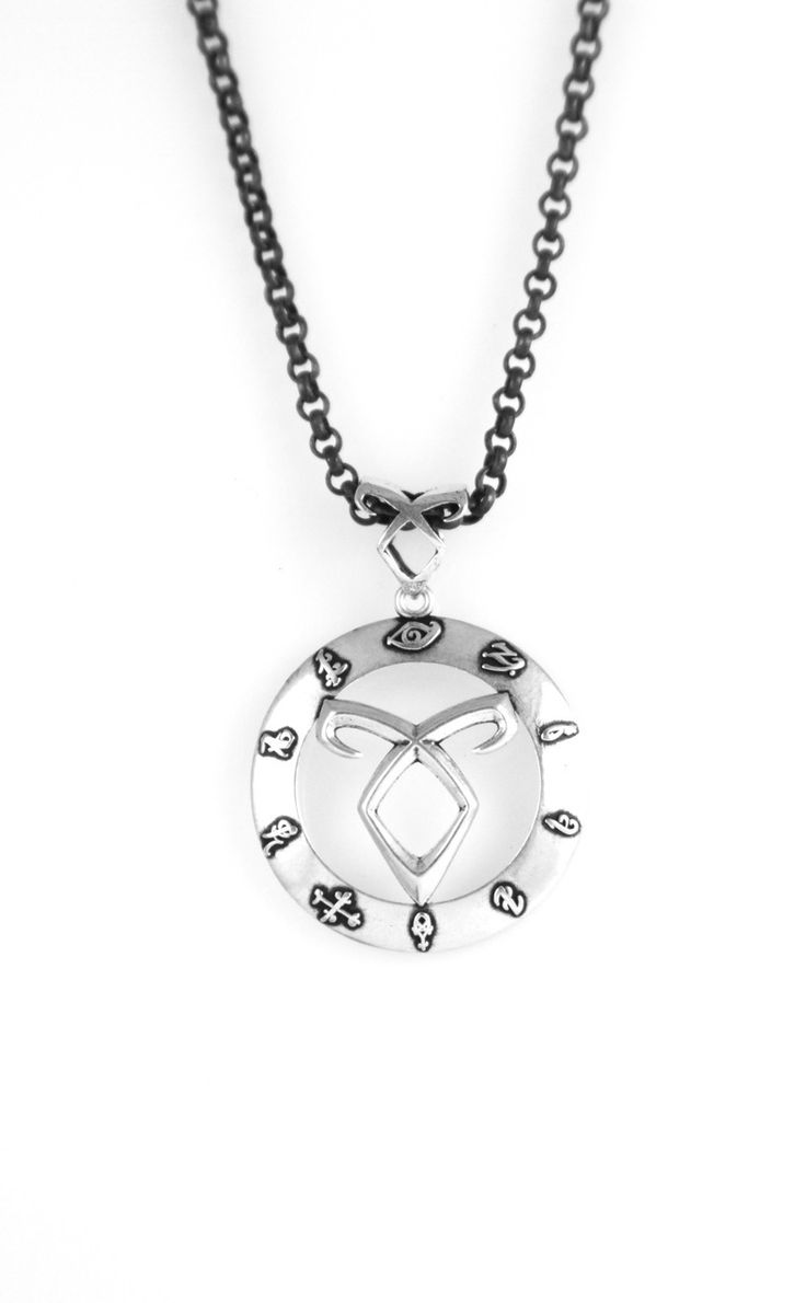 The Mortal Instruments Jewelry - Circle of Runes Pendant, $79.99 (http://www.themortalinstrumentsjewelry.com/necklaces/circle-of-runes-pendant/)