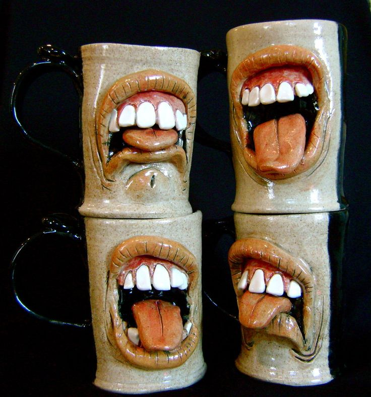 Bad Coffee mugs by thebigduluth.deviantart.com on @deviantART