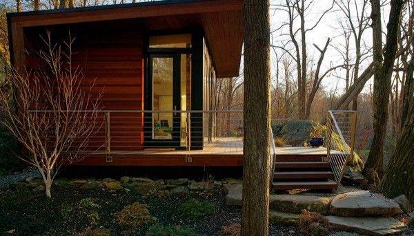 300 Sq Ft Modern Studio Cabin 002 Tiny Houses