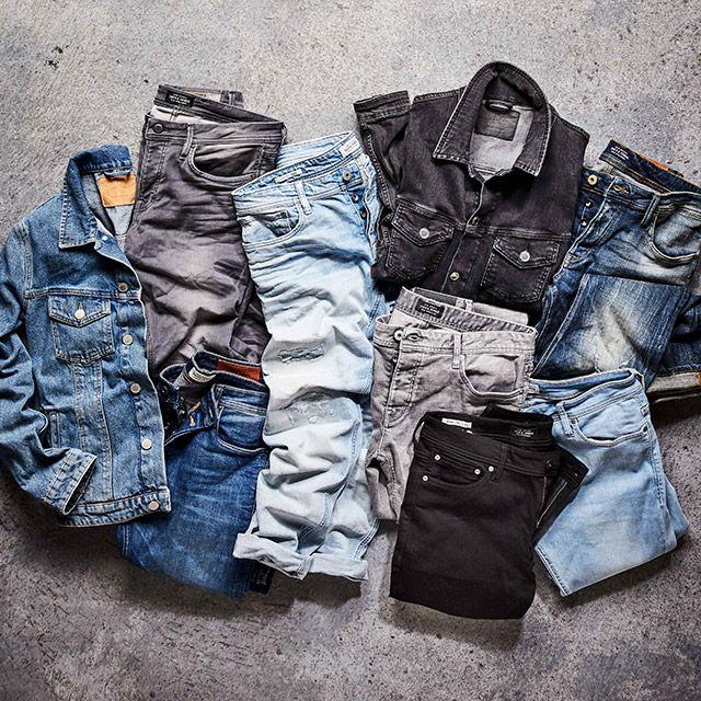 Jeans trend: distressed, relaxed and inspired by bikers | JACK & JONES #jeans #denim #jeansintelligence #jackandjones