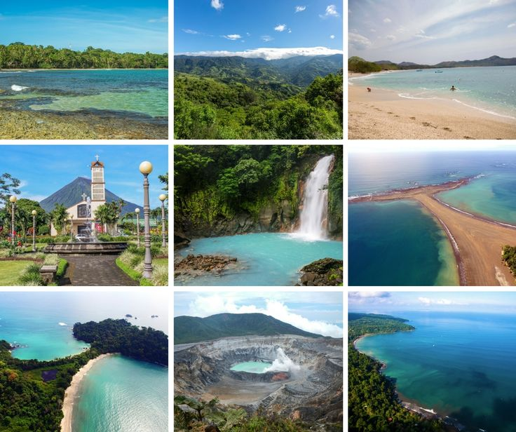 10 best places in Costa Rica for first time visitors: http://mytanfeet.com/costa-rica-travel-tips/best-places-in-costa-rica/