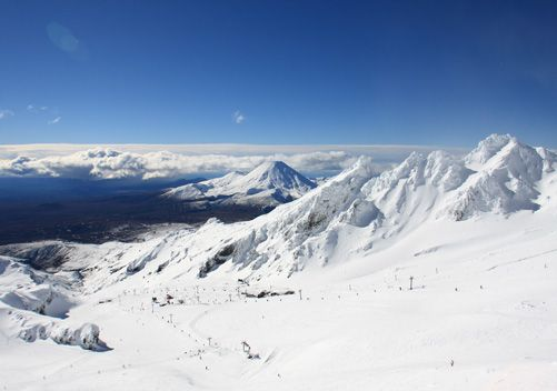Whakapapa - #1 overall ski area on the North Island