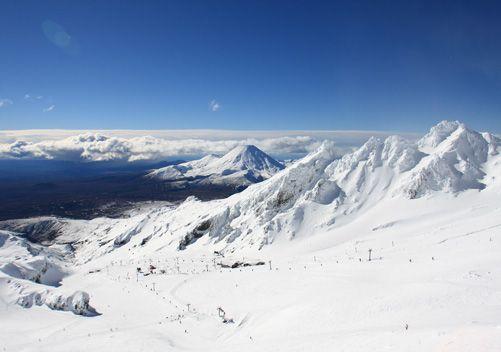 Whakapapa Mount Ruapehu New Zealand