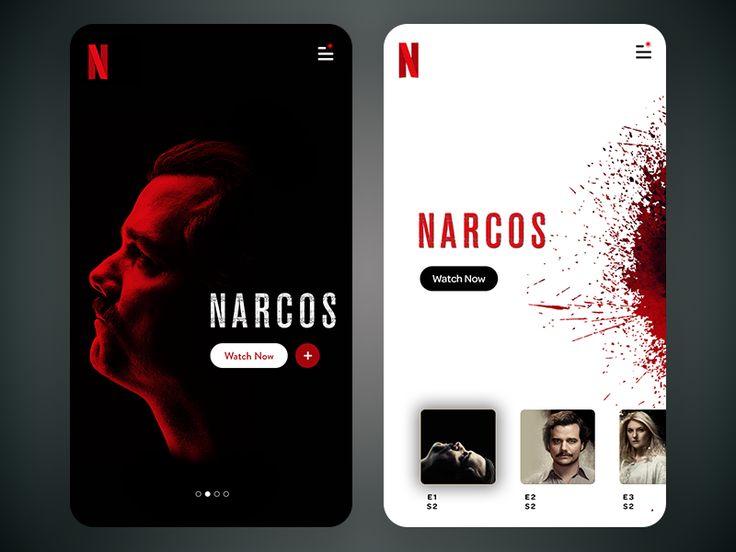 Netflix App Screen by Anupama Mishra