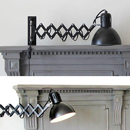 Adjustable Wall Reading Task Multi-Purpose Lamp Swing Arm…