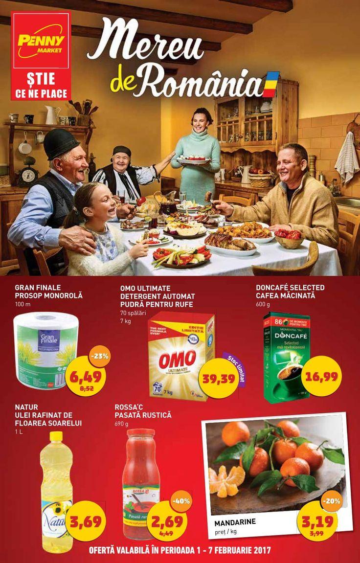 Catalog Penny Market Mereu de Romania 01 - 07 Februarie 2017! Oferte si recomandari: OMO Ultimate detergent automat pudra pentru rufe 70 spalari 39,39 lei
