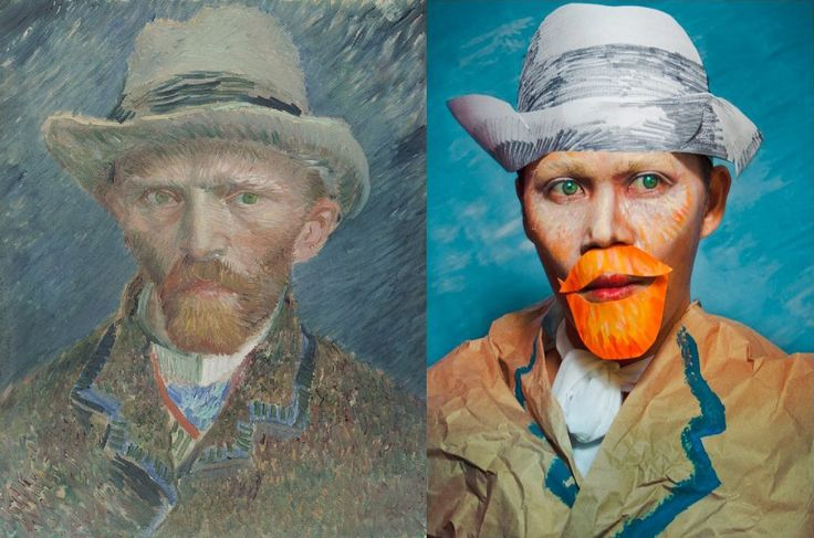 Tired of just looking at paintings? Now it's time to get inside them and to discover art in a whole new way with VanGoYourself.