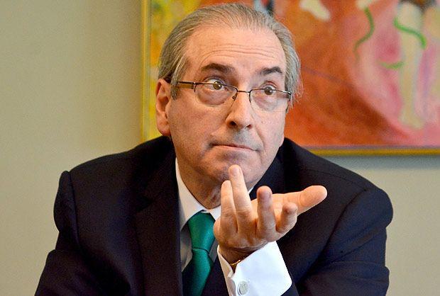 BRASILIA, DF, BRASIL, 12/05/2016, Entrevista com o Deputado,Afastado Eduardo Cunha [PMDB} (Foto: Renato Costa/Folhapress, EXCLUSIVA)