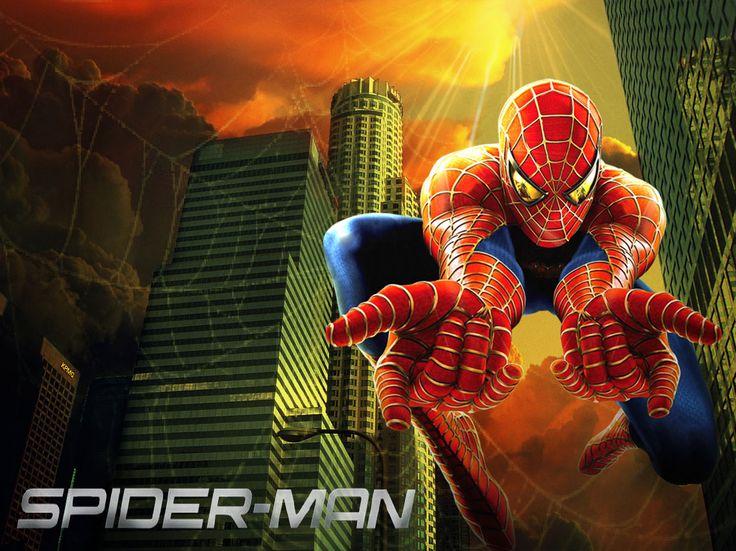 Foto montaje, Afiche Anime, pieza publicitaria-SPIDER-MAN (serie animada T.V)