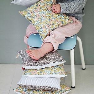 Poppy Liberty Print Pillow - soft furnishings
