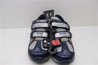 Dale Jr. #88 Youth Size 2 Sneakers with Velcro Fasteners
