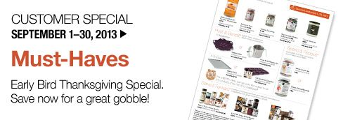 Epicure Selections Consultant Website > Monthly Special