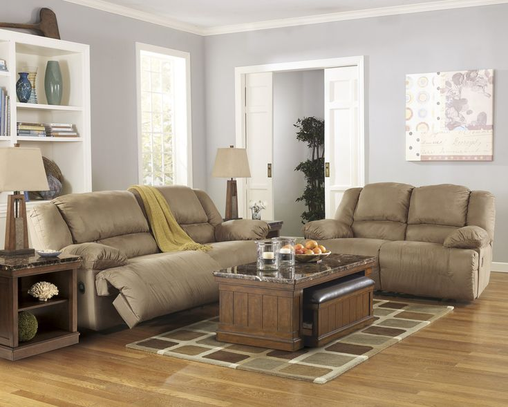 Chaise Sofa Corinthian Brooklyn Charcoal Reclining Sofa and Loveseat u My Furniture Place