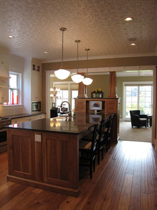 tin ceilings kitchens design pictures remodel decor and ideas - Tin Ceilings