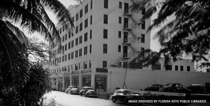 Great historic picture of La Concha Key West.