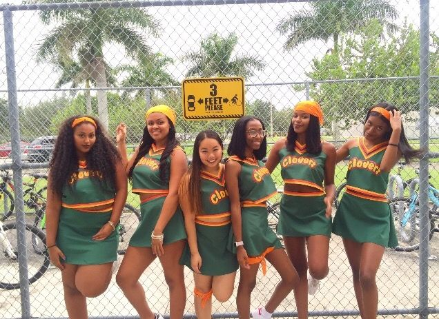 Bring It On Clovers Cheerleader Halloween Costume