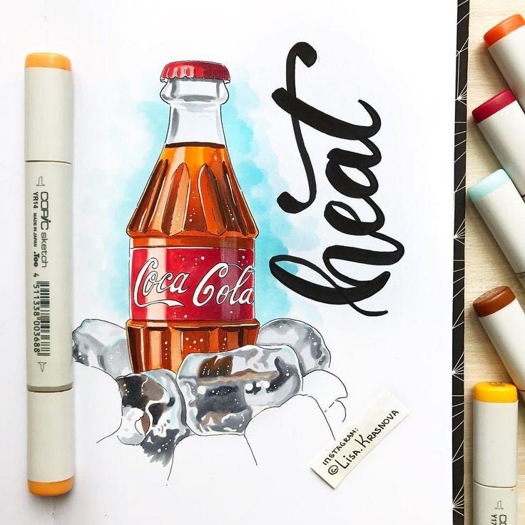1,026 отметок «Нравится», 25 комментариев — Lisa Krasnova (cha0tica) (@lisa.krasnova) в Instagram: «Ice cold #cocacola ❄️ В детстве обожала колу, а теперь пью только иногда в путешествиях. То ли…»