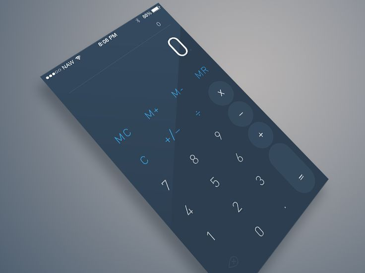 Flat Calculator by Nor Sanavongsay (Bay Area, California)