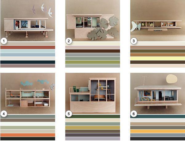 If It's Hip, It's Here: Bauhaus Mini-modernist Doll Houses Promote Karen Walker Paints For Resene