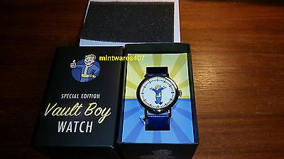Fallout 3 Special Edition Vault Boy Watch #295/500 NEW RARE 2014