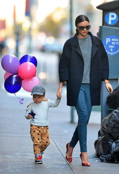 Miranda Kerr and Son Flynn in New York - Pictures - Zimbio