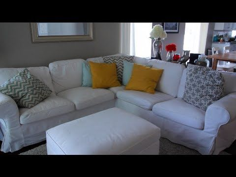 Here is my take/review on the white couch sectional from IKEA! Let me know if you have any questions. Link to couch:http://www.ikea.com/us/en/catalog/product...