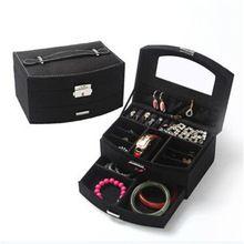Make up mac Korean Jewelry Storage Cases Creative Jewelry Box For Birthday…
