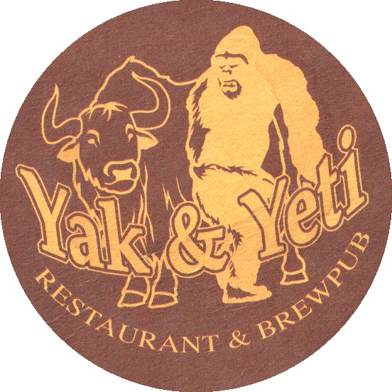 The Yak & Yeti Restaurant and Brewpub.  Great beers that pair well with Indian food.