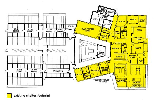 Grooming Shop Floor Plans: Dog Kennel Blueprints Plans