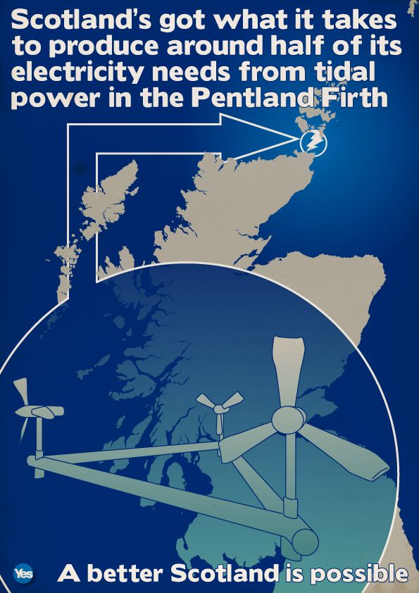 best indyref graphics images scottish the pentland firth can provide half of scotland s electicity indyref scotland