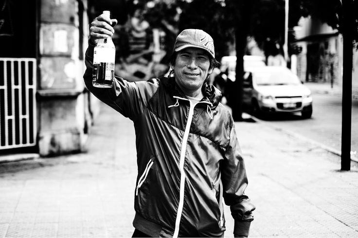 A por mas, Personajes Urbanos, Santiago Centro, Chile