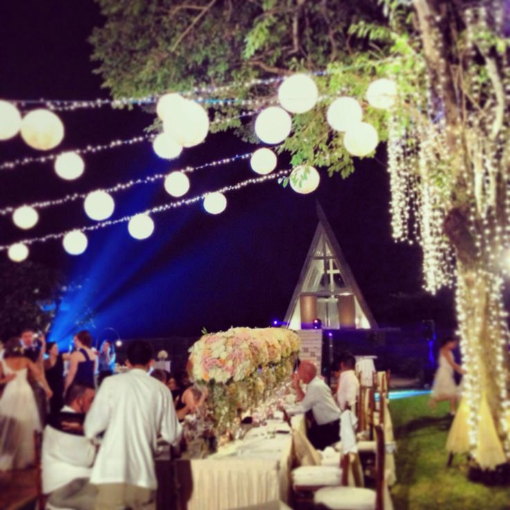 #wedding reception #wedding in Conrad bali #outdoor wedding