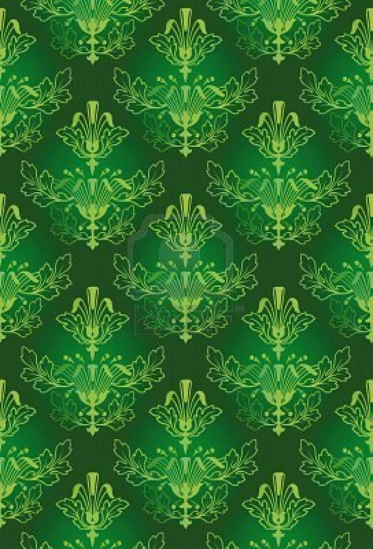 Green damask Celadon Pinterest Damasks, Design and