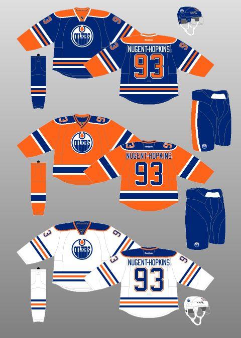 2015-16 Edmonton Oilers - The (unofficial) NHL Uniform Database