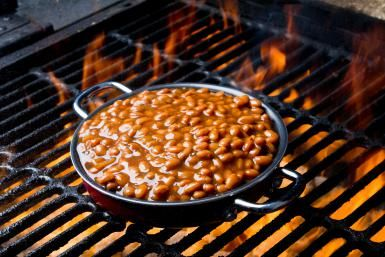 Make the Ultimate Barbecue Baked Beans with Smoked Meat: Cowboy Beans