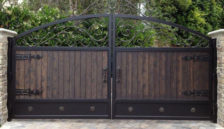 wrought iron gates custom wood iron gates we also specialize
