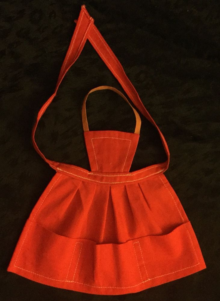 Barbie Mattel Vintage What's Cookin'Red Apron 1962 /63 #962 NM  | eBay