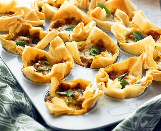 Ratatouille Tarts - Everyday Delicious Kitchen
