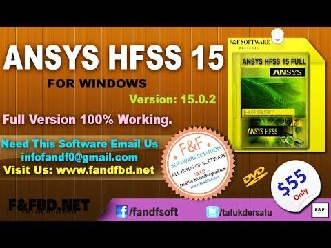 ANSYS HFSS 15 0 (64-bit) FULL | SOFTWARE | Software, Windows