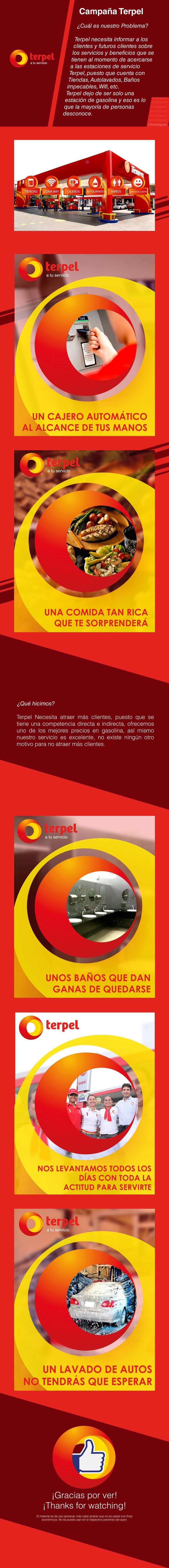 Terpel presenta su nueva imagen, Sus nuevos beneficios y servicios.