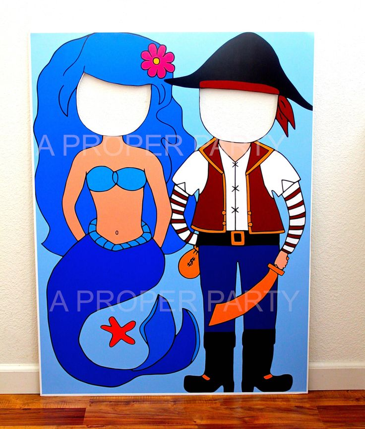 Under the Sea - Pirate Party - Mermaid Party - Pirate Decor - Mermaid Decor - Pirate Party - Mermaid Party - Pirate Mermaid Prop by aPROPerParty on Etsy https://www.etsy.com/listing/123601939/under-the-sea-pirate-party-mermaid-party
