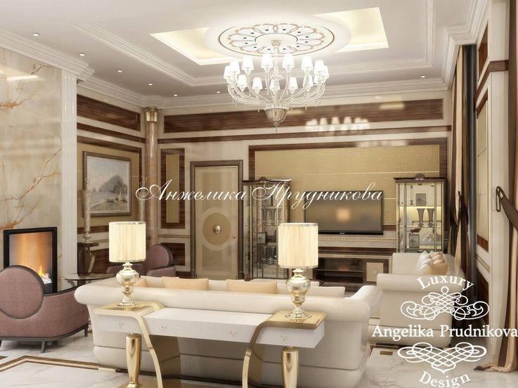 Интерьер квартиры в итальянском стиле в ЖК Садовые Кварталы - фото