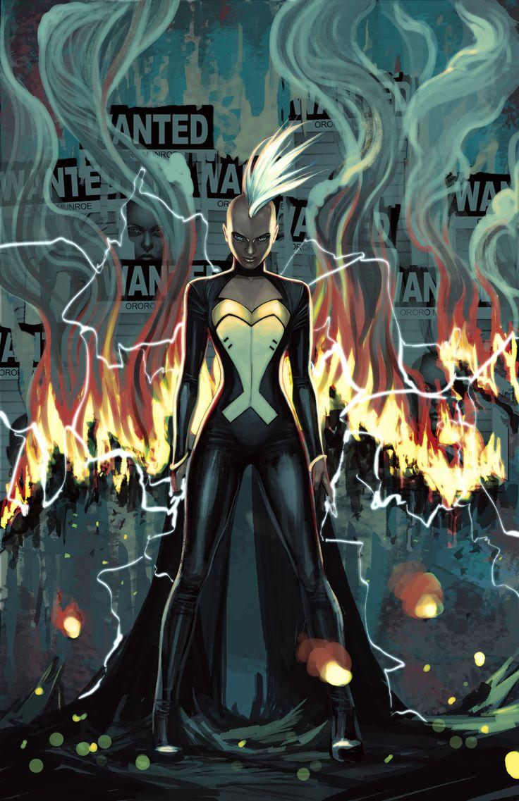 Storm #8 cover. Stephanie Hans. Marvel Comics. Ororo Munroe.