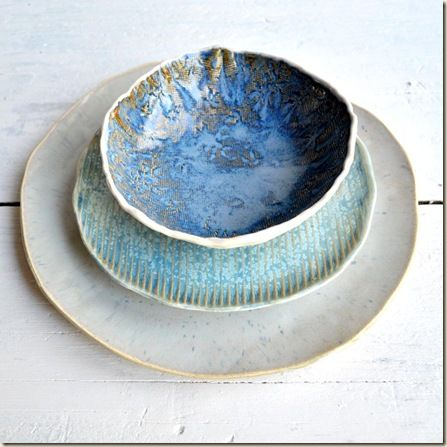 ceramic dinnerware by Lee Wolfe