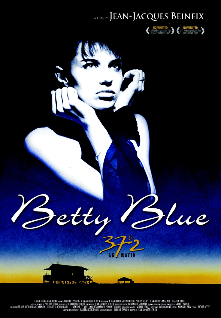 [Betty Blue] A shocking and offbeat story of two French lovers, Zorg (Jean-Hugues Anglade) and Betty (Beatrice Dalle), who fall into a deeply erotic and all-encompassing relationship.    Zorg is a simple repairman in his mid-thirties who lives a relatively dull life in a remote, weathered shack until he meets Betty, a sexy, mercurial younger woman who challenges his way of thinking and forces him to change his life.