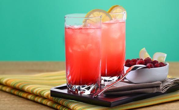 PRONACA RECETA: Limonada rosada de frutos rojos