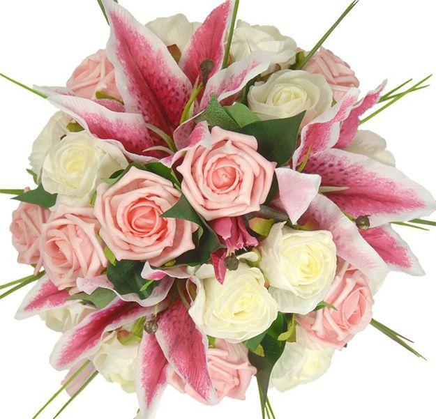Silk Wedding Flowers Bridal Bouquet
