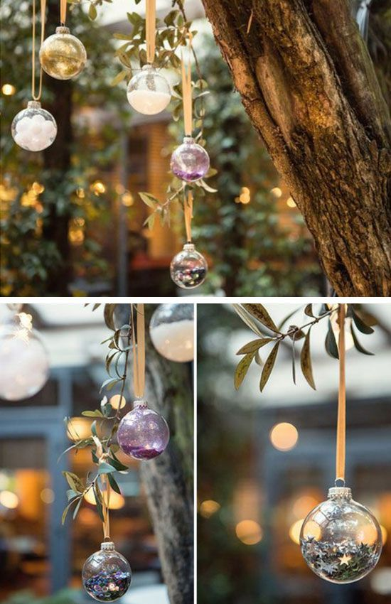 Decorative Hanging Balls | Click Pic for 25 DIY Wedding Decorations on a Budget | DIY Rustic Wedding Decor Ideas on a Budget