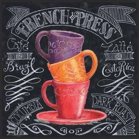 CUADROSTOCK.COM - Cuadro Chalkboard Coffee II / Paul Brent