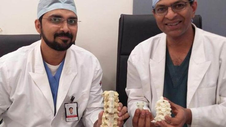 India's first successful implantation of an artificial 3D printed vertebrae at a Gurgaon hospital allowed a 32-year-old woman to walk again.
